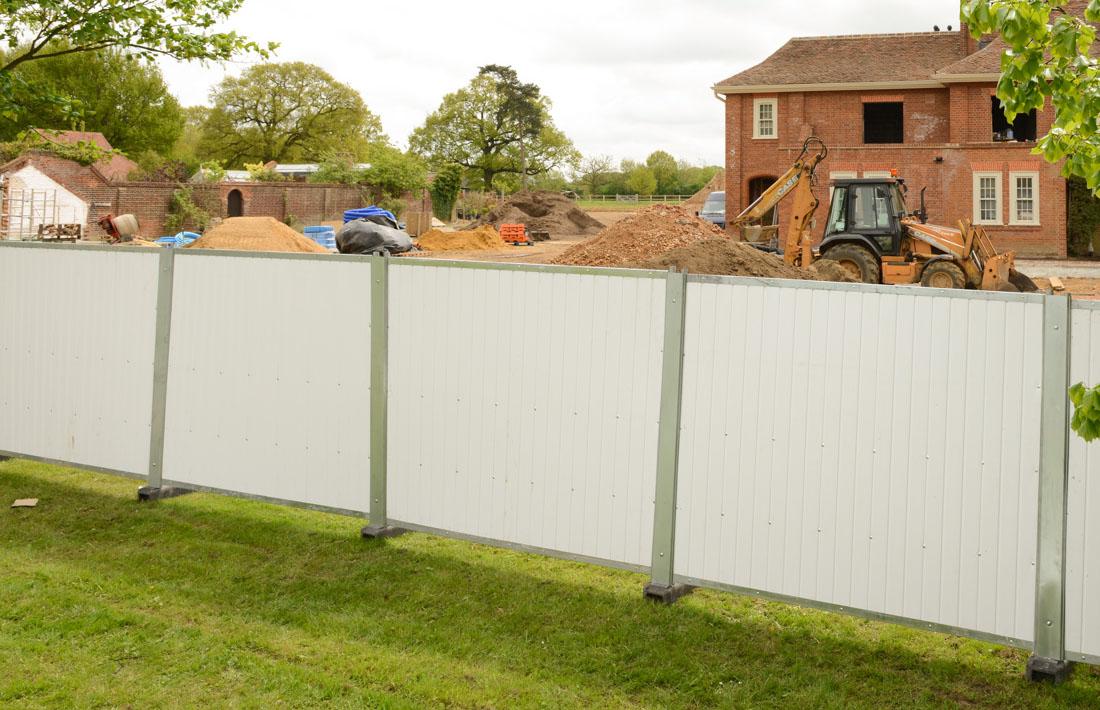 External Site Hoarding Reuse A Wall